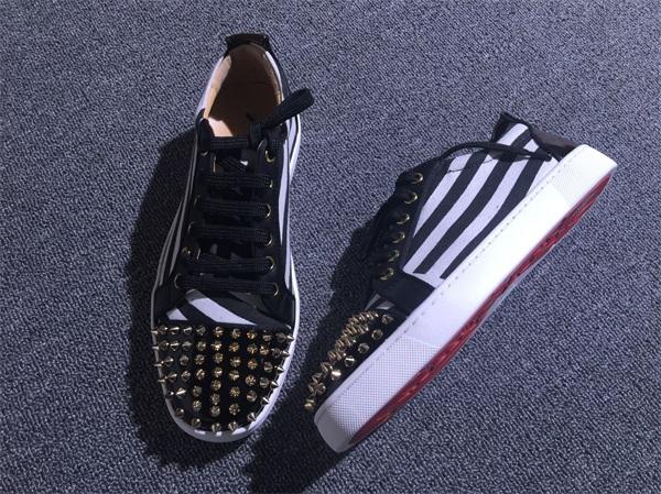 innovative design 71e99 eabcb Christian Louboutin Sneaker Low Top Junior Men Shoes