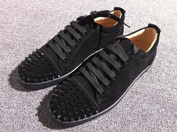 innovative design 8b3e0 fbdf9 Christian Louboutin Sneaker Low Top Junior Men Shoes