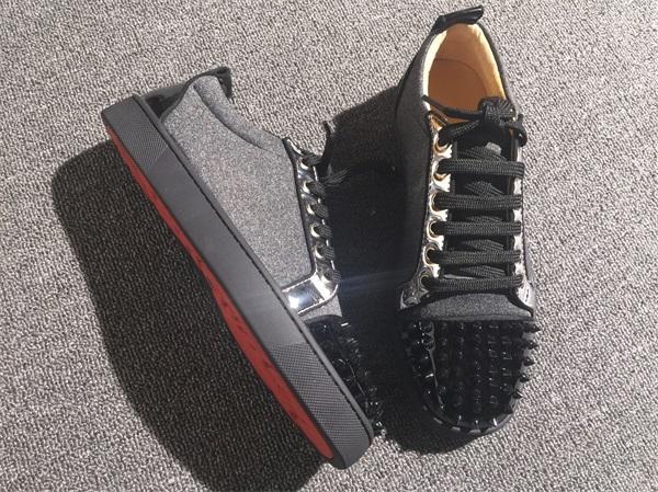 innovative design a89bf 8f45e Christian Louboutin Sneaker Low Top Junior Men Shoes