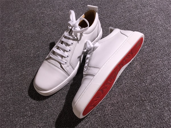 official photos dca26 e6c54 Christian Louboutin Sneaker Low Top Junior Men Or Women Shoes