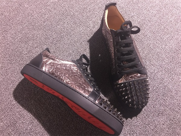 innovative design a952a 28560 Christian Louboutin Sneaker Low Top Junior Men Shoes