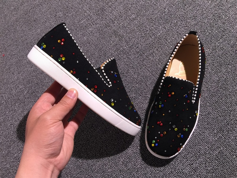 best service f2491 0d5b4 Louboutin For Man Sneakers Christian Louboutin Flat Boat Shoes