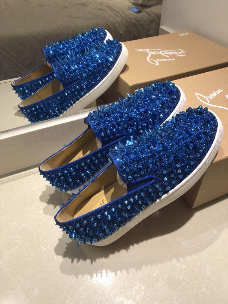 Spike Boat Shoes Louboutin