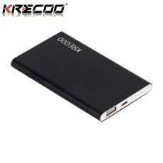 KRECOO Portable Power Bank 10000mAh External Battery Charger Ultra Slim Mobile Power Bank Smart Charge for Phone iPhone,iPad & Samsung Galaxy & More2