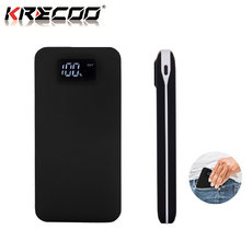 KRECOO Portable Power Bank 20000mAh Fast charging External Power High Capacity Power Bank Dual USB Charge for iPhone,iPad & Samsung Galaxy & More.