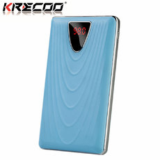 KRECOO Portable Mobile Charger 20000mAh External Power Bank Charge for iPhone,iPad & Samsung Galaxy & More