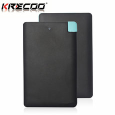KRECOO Portable Power Banks 10000mAh External High Standard Ultra Slim Mobile Charger Charge for iPad iPhone Android Cell Phones Samsung LG Sony Nokia &Others
