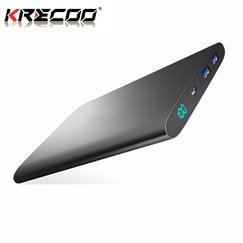 KRECOO Portable Power Bank 20000mAh External Mobile Battery Ultra Slim Mobile Charger Charge for iPhone,iPad & Samsung Galaxy & More