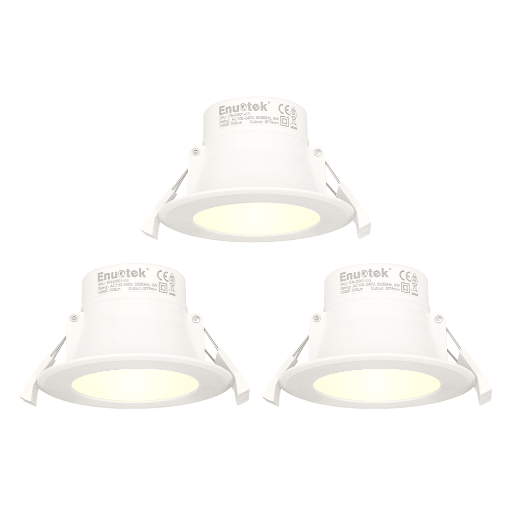 8w led small recessed downlights recessed ceiling lights warm white lighting 3000k cut φ70 85mm ac100240v ip44 available for bathroom