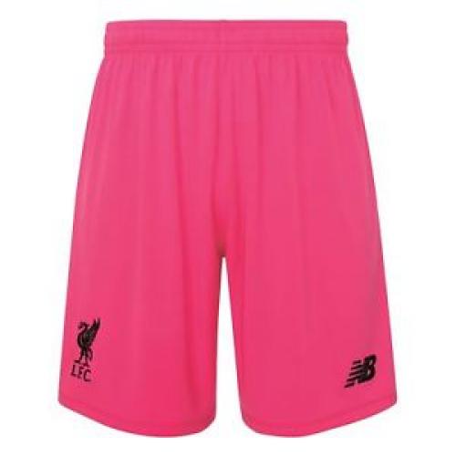 online retailer 9c53f b59d0 18-19 Liverpool Goalkeeper Pink Soccer Jersey Kit(Shirt+Short)