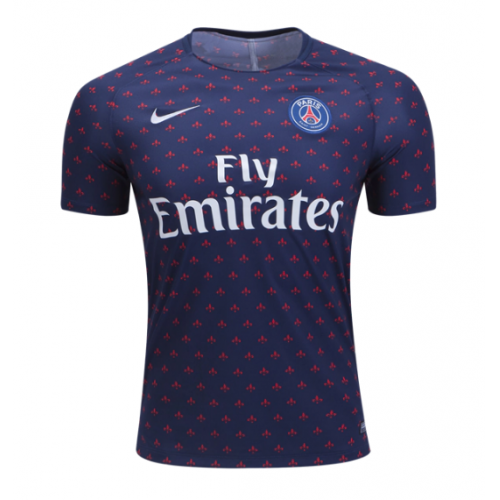 best sneakers 157a7 332b2 18-19 PSG Navy Training Jersey Shirt