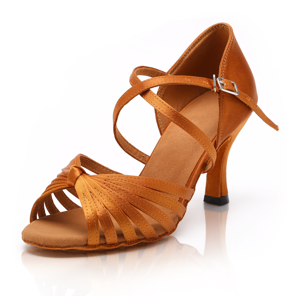 0595ee65be61 US  45 - Ballroom dance shoes women 3 inch flared latin shoes - www ...