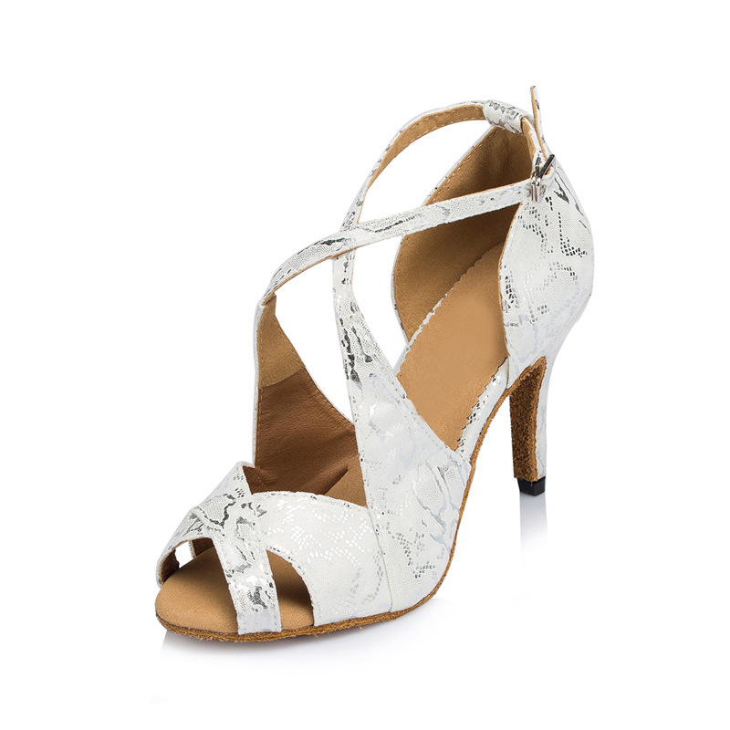 94976a9e4a US$ 35.99 - Ballroom dance shoes for women white satin wedding shoes ...