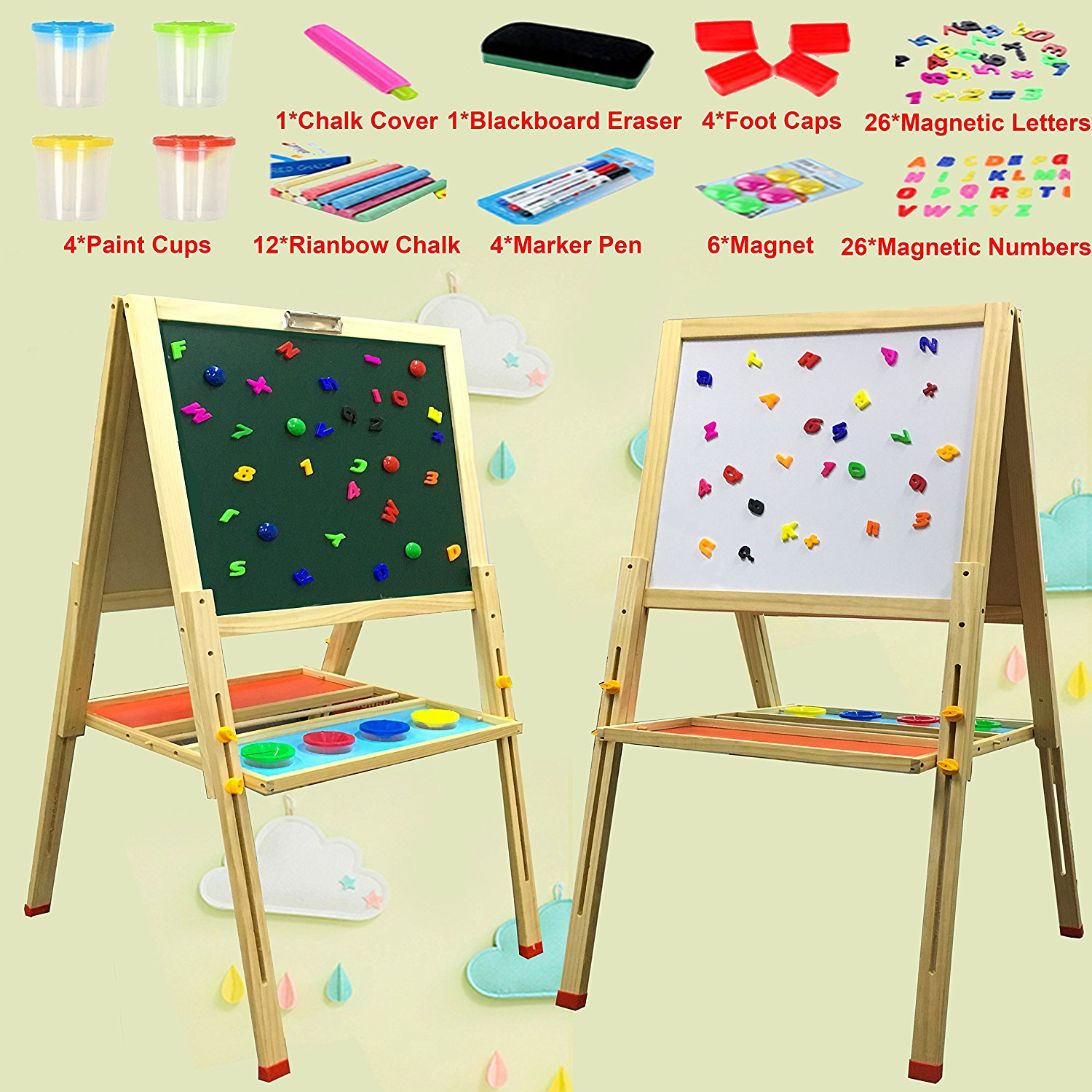 Marker and chalk drawing boards 24