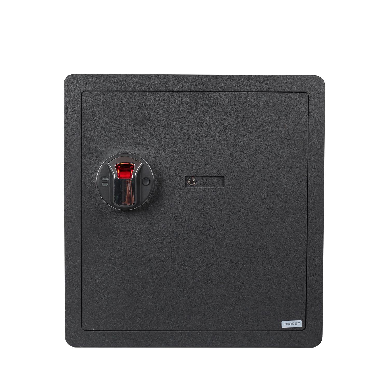 US$ 139.99   Reliancer Fingerprint Security Safe Box Fireproof Waterproof  Lock Box Cabinets Gun Pistol Cash Strongbox Solid Steel Safety Jewelry  Storage ...