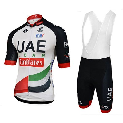 d6a0fd3e2 2018 UAE Cycling Jersey Maillot Ciclismo Short Sleeve and Cycling bib  Shorts Cycling Kits Strap cycle jerseys Ciclismo bicicletas Item NO  1009720