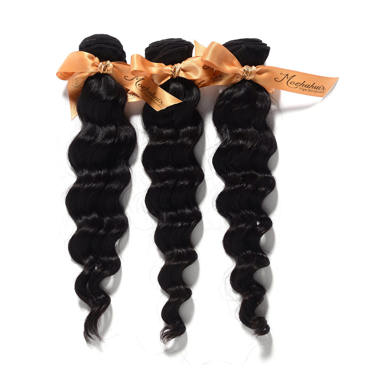 Us 1755 8a Mocha Hair 3 Or Mix 3 Pcs Lot Loose Wave Brazilian