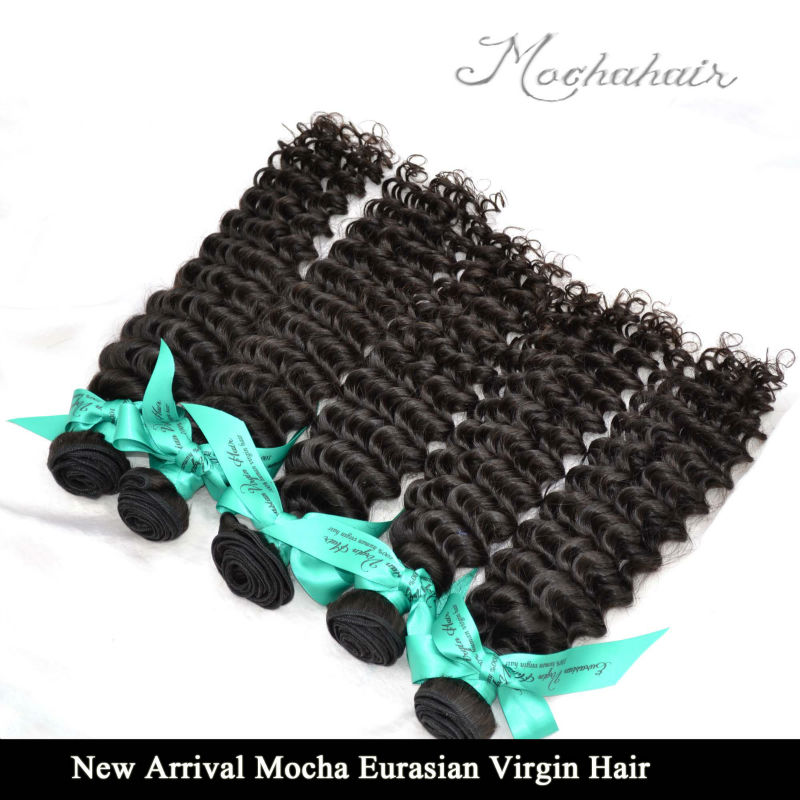 Us 247 8a Virgin Eurasian Hair Deep Wave Hair Extensions 4pcslot