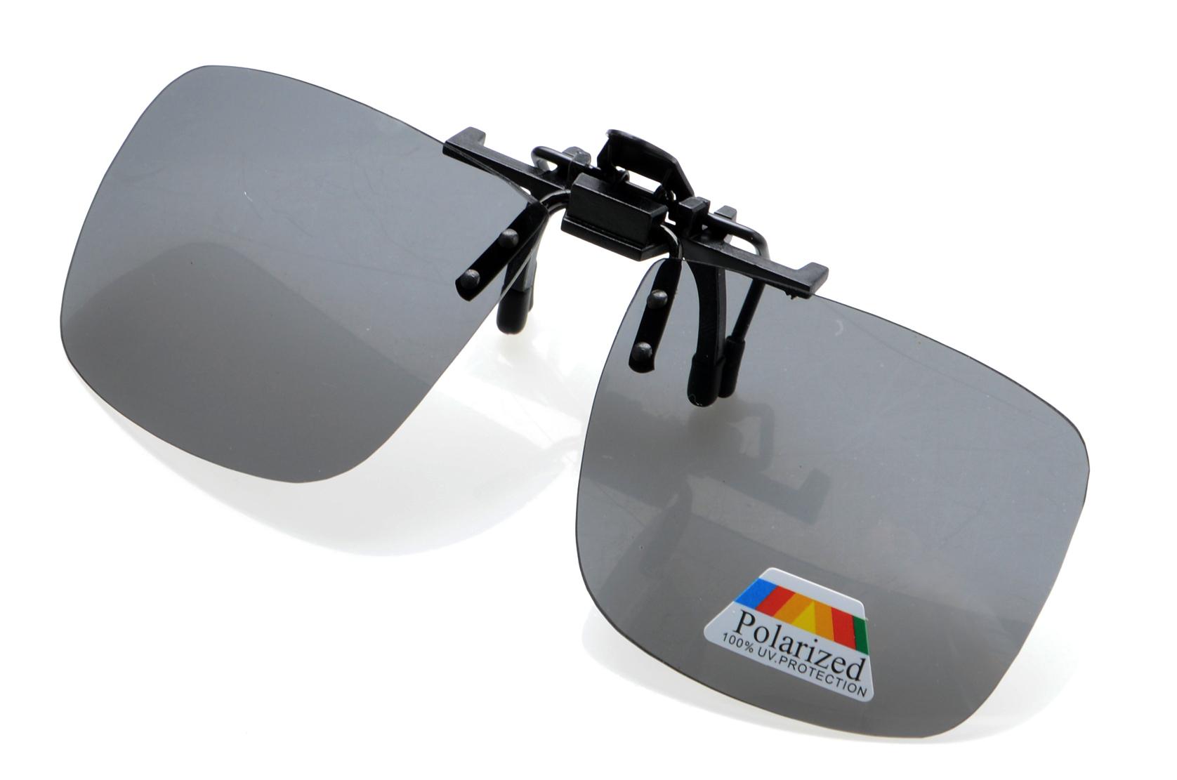 bc3693ae50 Eyekepper Flip up Sunglasses Clip up Large Polarized And Tinted Lens F69
