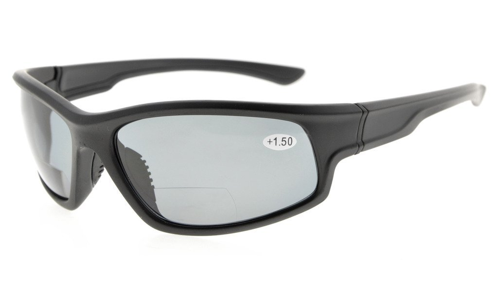 5e485e5213 Eyekepper Bifocal Sunglasses with TR90 Frame for Finishing Driving Sports  Cool Style Man TH6199-Bifocal