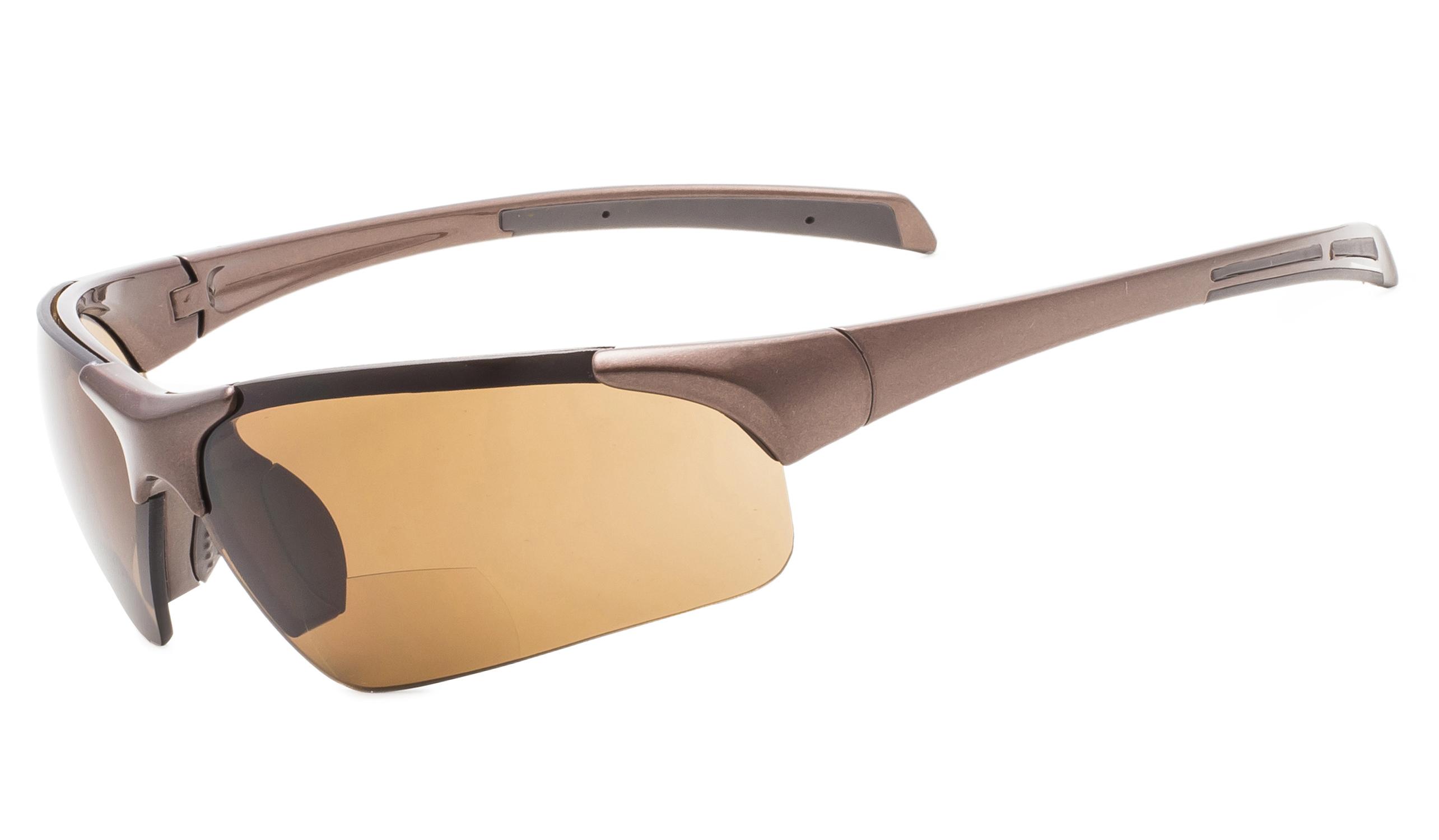 3f00d53af0 Eyekepper Bifocal Sunglasses UV400 Protection Quality Unbreakable TR90 Frame  Half-rimless TH6186-Bifocal