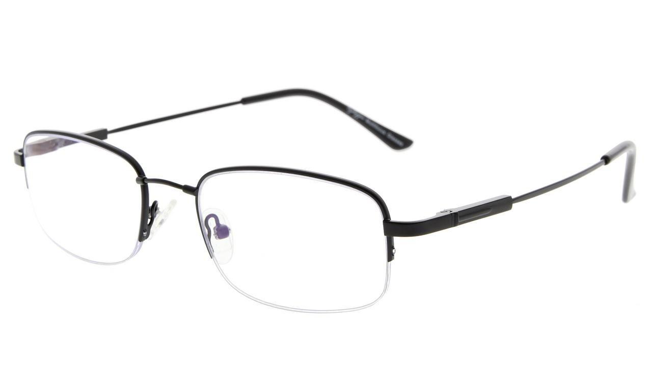 a02a0a0fa1 Bifocal Reading Glasses UV Protection Reduce Glare Half-rim Folding Frame  Progressive Multifocus M1704 Item NO  M1704