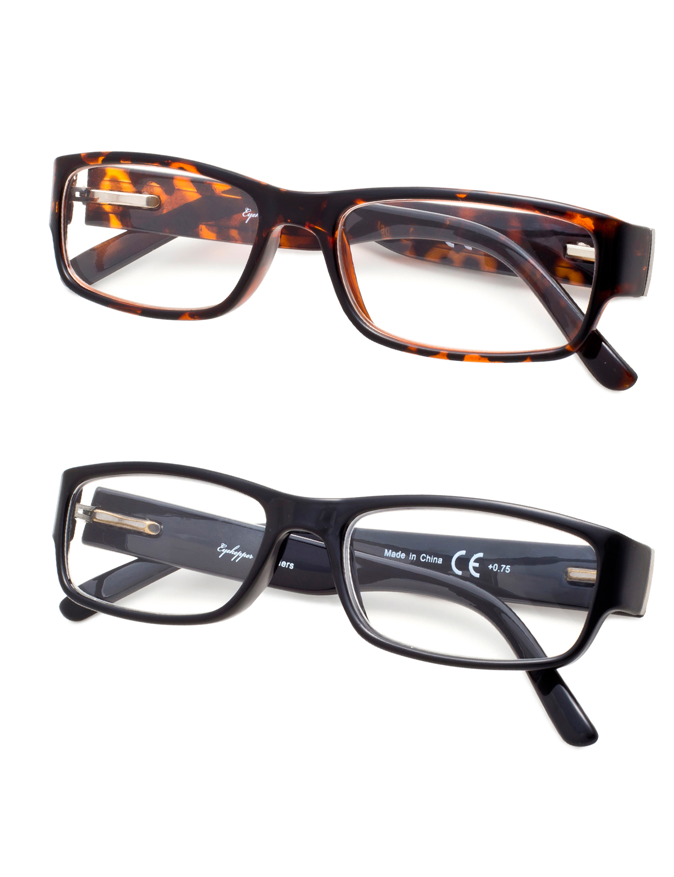 Eyekepper Reading Glasses 2-pack Classic Full Frame Design with ...