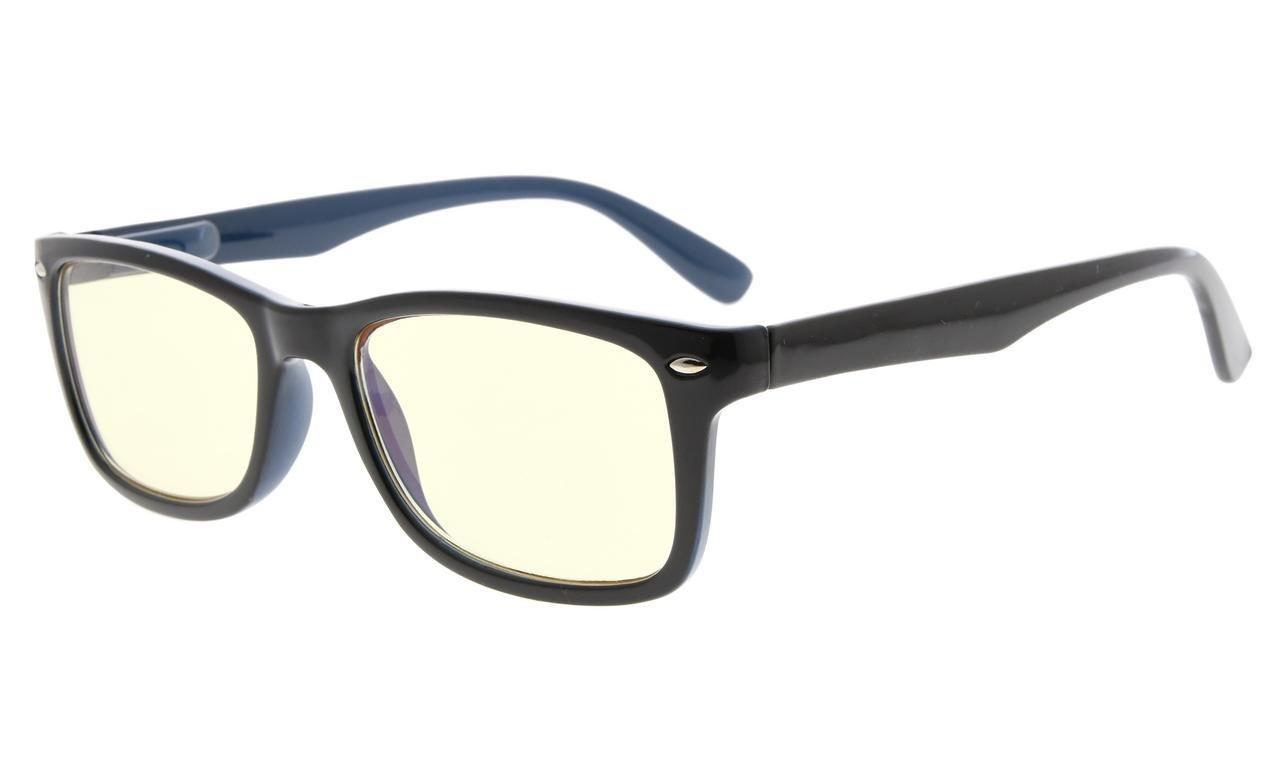 004086311da0 Computer Reading Glasses UV Protection Readers For Men Women Black Blue  CG075 Item NO  CG075-Black-Blue
