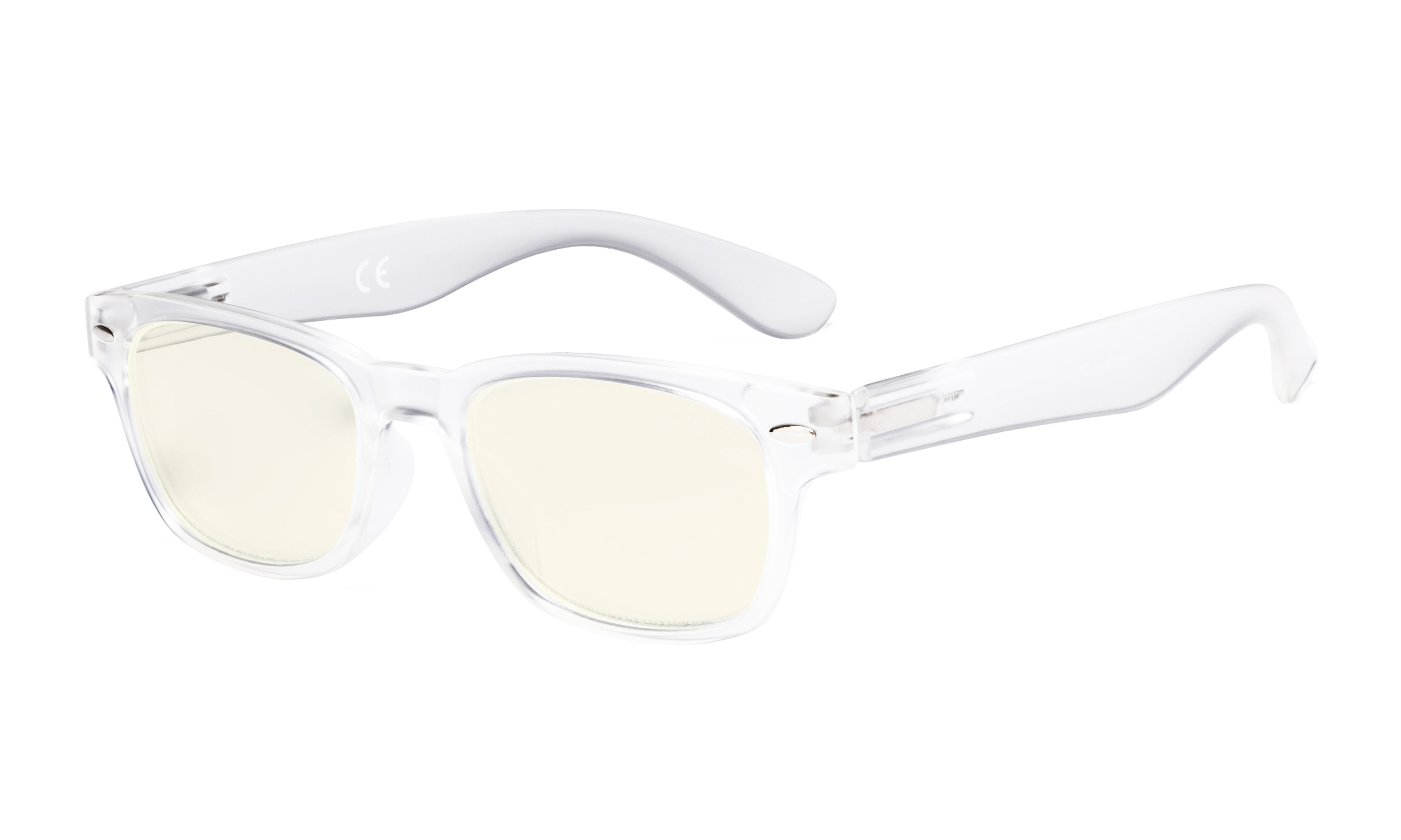 29efaa866f1e Eyekepper Ladies Computer Glasses - Blue Light Filter Readers Women - UV420 Protection  Retro Reading Eyeglasses - Clear UVRFH4