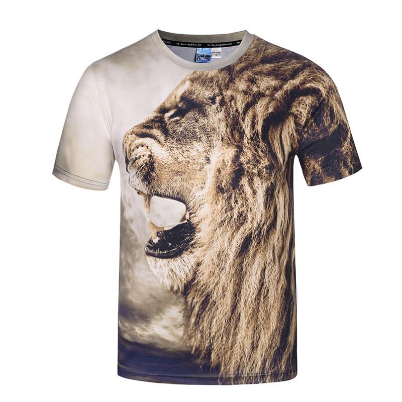 868783d3d262 3D Printing Animal T-Shirt 9010226 Item NO: 9010226