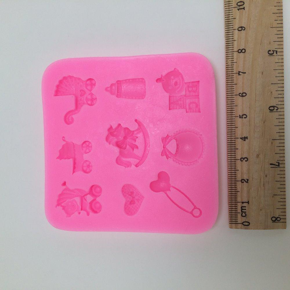 Pişirme için silikon kalıplar: özellikleri ve kullanım için öneriler