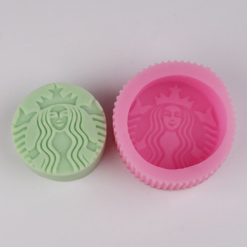 Bg011 Starbucks Kaffee Silikon Seife Formen Fondant Kuchen Formen