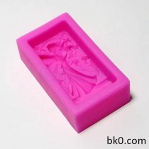 Beautiful Faery Soap Mold Silicone Cake Mold Cooky Mold AA019