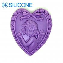 Baby Angel Silicone Molds Soap Candle Cake Decorating Tools Rose AJ019