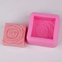 BF015 Rose Flower Silicone Decorative Soap Candle Molds Resin,Clay Crafts Mould
