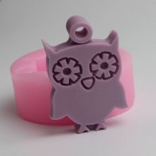 BD023 Owl silicone mold for soap and candles makinganimal mould Diy Craft Molds