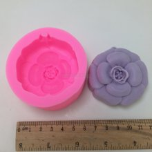 BN007 Flower Silicone Candle Mold Aroma Gypsum Mold Fondant Cake Chocolate Baking Moulds