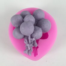 BK1073 3D Silicone Molds Fairy balloon Clay Mold Cake Decoration Sugar Craft Tools DIY Craft Molds