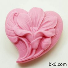 Craft Art Silicone Soap Mold Flowers Craft Molds DIY Handmade Soap Molds AR012