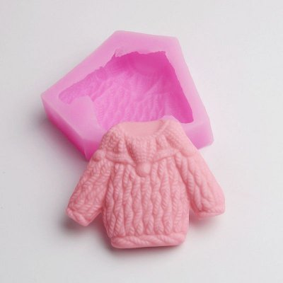 BD010 Sweater Cloth Silicone Mold Cake Tools Soap Mold Wholesale