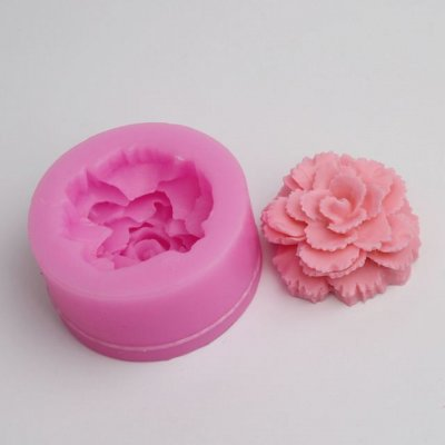 BC011 3D Silicone Flower Molds for Cake Decoration Fondant Moulds Bakeware Soap Jelly Candy Tools