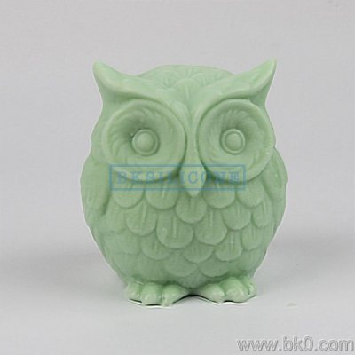 BH022 3D owl silicone mold soap molds Cake Decorating Tools