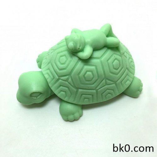 Hot Turtle And Frog Silicone Soap Mold Cartoon Molds DIY
