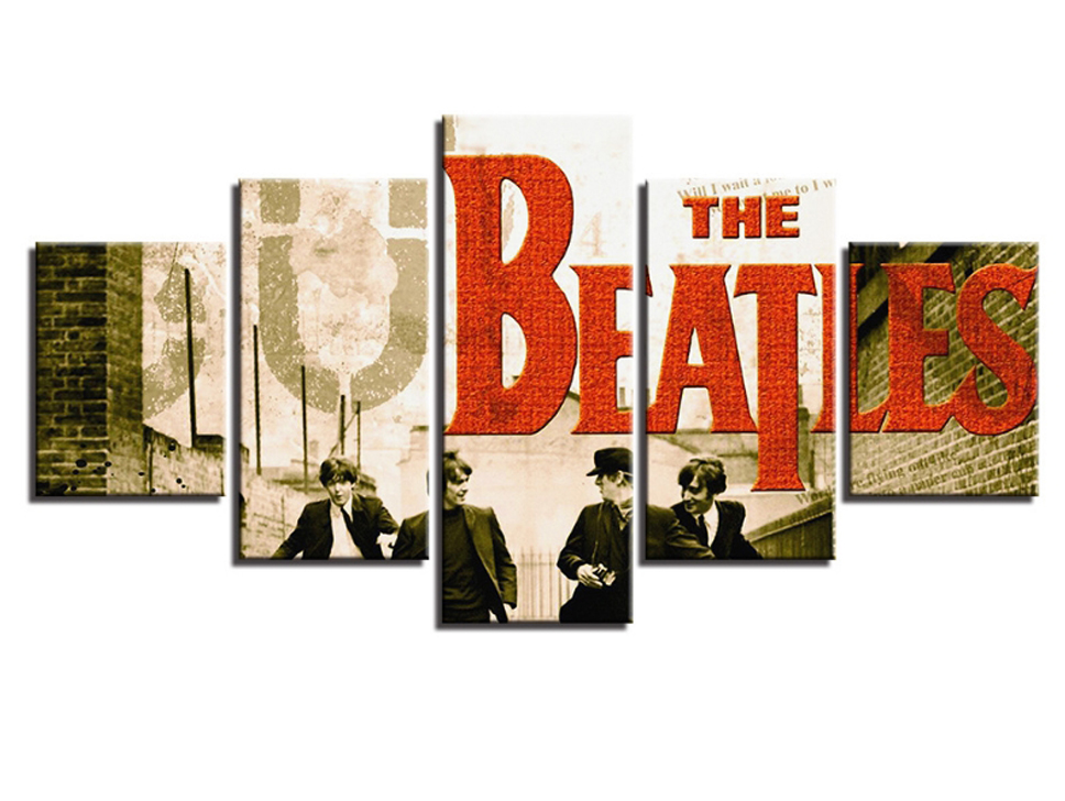 Amosi Art Wall Pictures Home Decoration Beatles Band Singer Poster Picture Canvas Prints For Your Bedroom Decor Item NO 915206