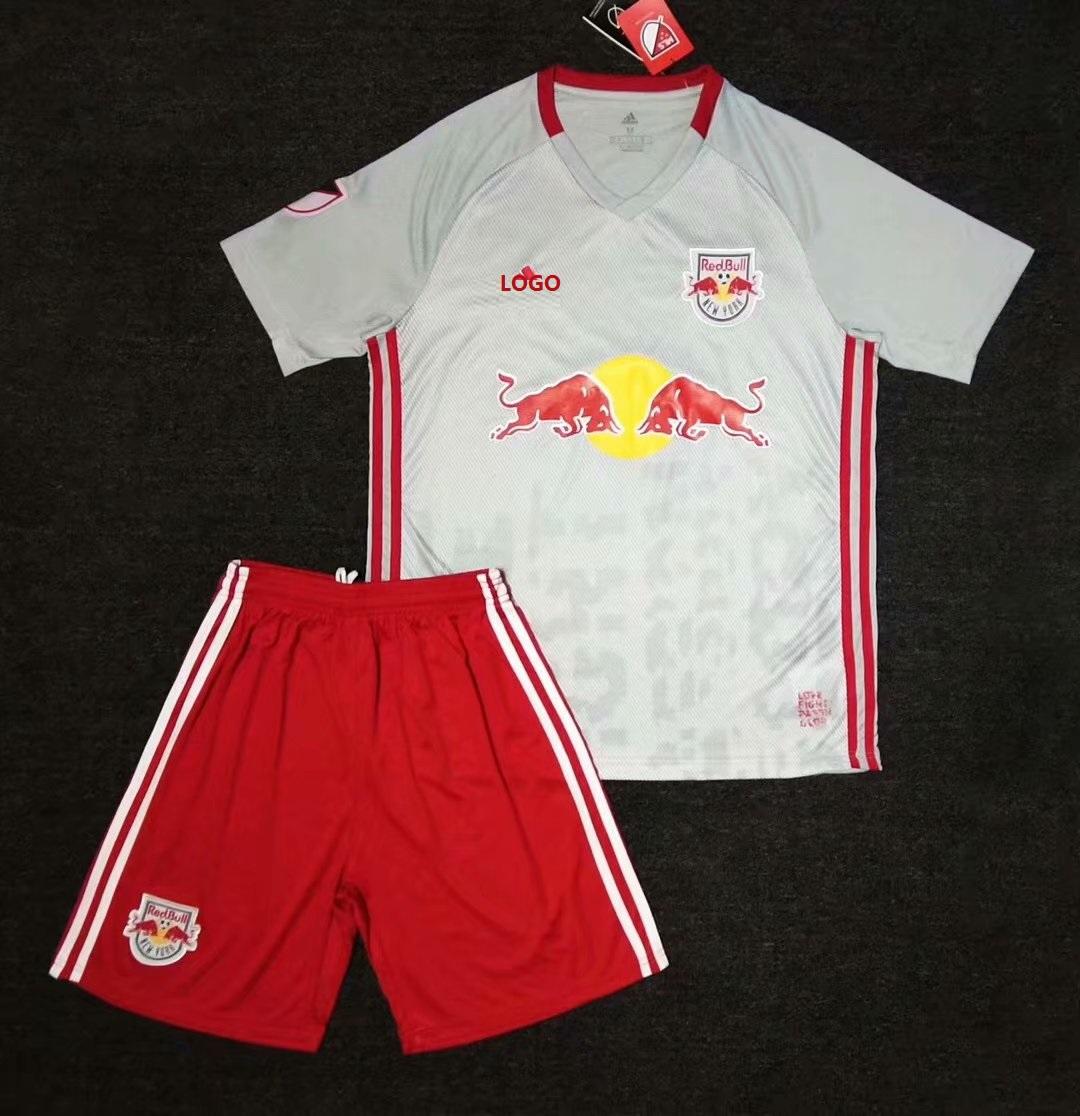7c4263cde 19 20 Adult New York Red Bull Home Soccer Uniform kit Item NO  577925