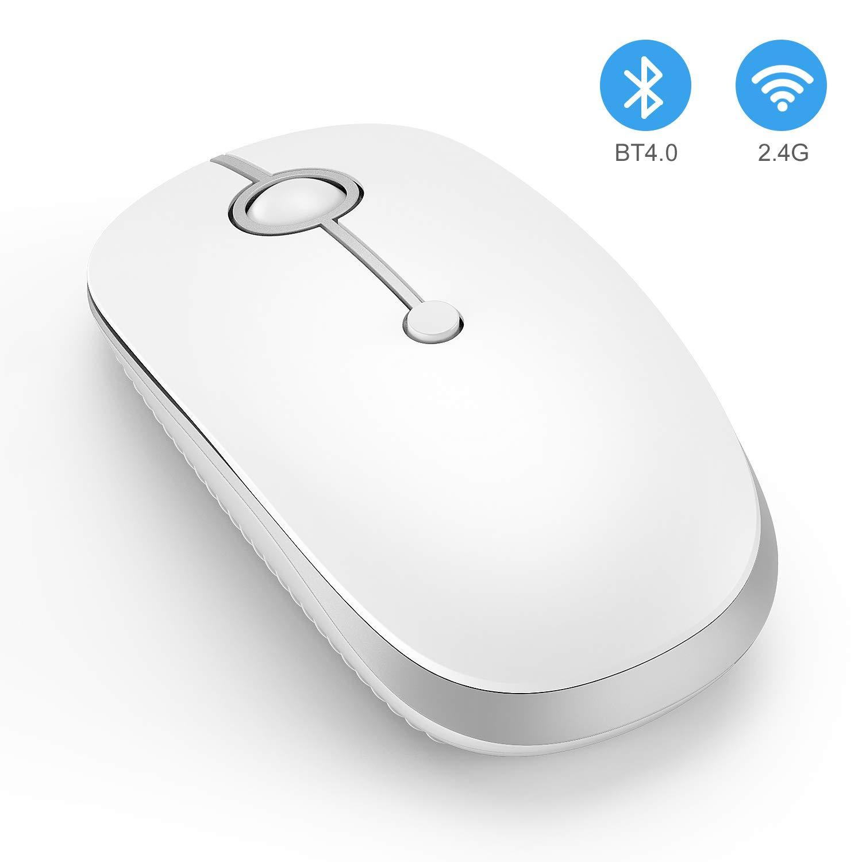 d3c66f04f1d US$ 19.99 - Slim Mouse, Wireless+Bluetooth MS003 - www.jellycomb.com