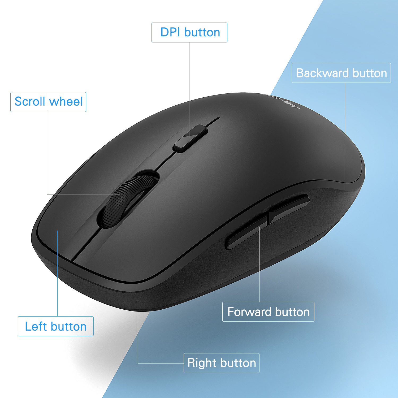 e7e101cc187 Dual Mode Bluetooth 4.0 Mouse 2.4G Wireless Portable Optical Mouse Item NO:  MS023