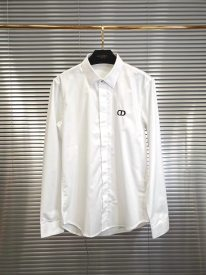Dior 19 Prefall new men's CD letter casual fashion long-sleeved shirt