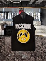 Moschino  19S spring/summer newest vest with antiwar letters