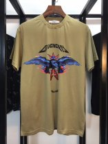 Givenchy flame print falcon T-shirt